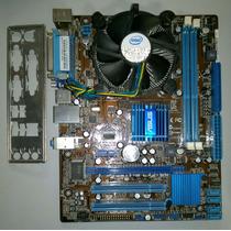 Kit Placa-mãe Lga775 Asus P5g41t-m Lx2 + Core 2 Duo E7500
