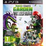 Plants Vs Zombies Garden Warfare * Ps3 Digital * Stock Ya!