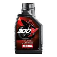 Aceite Motul Sintetico Para Motor 4t 300v 15w50.