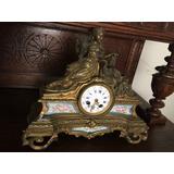 Reloj Bronce Y Sevres Francés