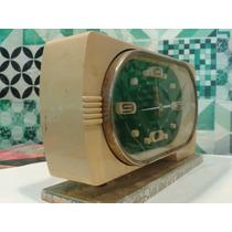 Antiguo Reloj Despertador Made In Shanghai