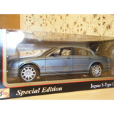 Jaguar S-type (silver Blue) 1:18   Maisto Special Edition