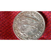 Antigua Moneda Alemana 1927 3 Marcos