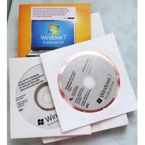 Window 7 Profissional Pt/br 32 Bits Box Licença Oem