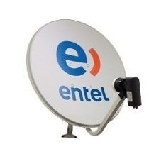 Antena Parabolica Fta 60 Cm Entel Cinebox Globalsat Duosat