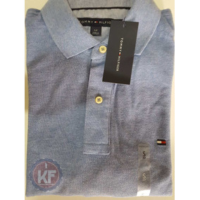 Camisa Polo Lisa Tommy Hilfiger Original - Classic Slim Cust