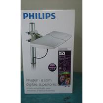 Antena Externa Philips Amplificada Hdtv Sdv8625t 22db
