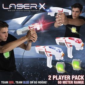 Arma Laser X Infra Vermelho Com 2 Lançador C/ Colete C.1415