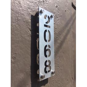 Números Residenciales De Aluminio Para Casa, Oficina. Ver30