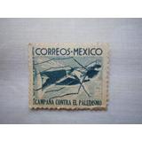 Timbre Postal Mexicano 1 Ctvo. 1939 Para Coleccionistas