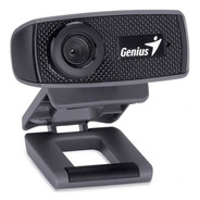 Webcam Genius 1000x Hd V2, 1280×720 Resolución, Negra