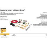 Equipo De Corte Y Soldadura, Pretul Clave Corsol- 21576