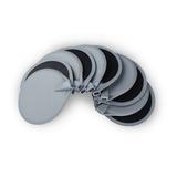 París 5 6,5 Cm Electrodo Almohadillas Goma Reutilizable Repu