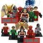 Justice League Set 6 Figuras Lego Compatible.