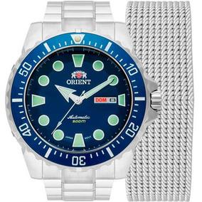Relógio Orient Masculino Troca Pulseiras 469ss073d1sx