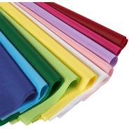 Papel De Seda Colores 50 Hojas 50x70cm Resma 1era Calidad