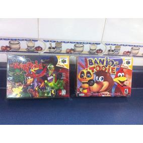 2 Cajas Custom Para Tus Juegos Banjo Kazooie + Banjo Tooie