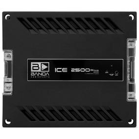 Módulo Banda 2500w Rms Ice 2500 1 Ohm Mono Amplificador