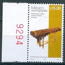 Sc 2504d Año 2013 Creacion Popular Marimba De Ambar 15 Pesos