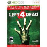 Left 4 Dead Para Xbox 360 O Xbox One. Juego Físico