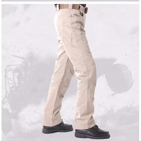Pantalon Militar Urbano Bolsillos Spandex