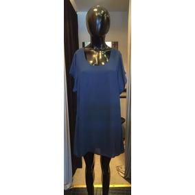 Vestido Corto Suelto Mangas Y Espalda Descubierta - Art 500