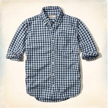 Camisa Hollister Quadriculada 100% Original - Tam P - P1