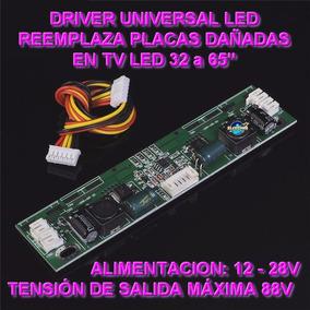 Placa Driver Inverter Universal Tv Led 32 A 65 Pulgadas
