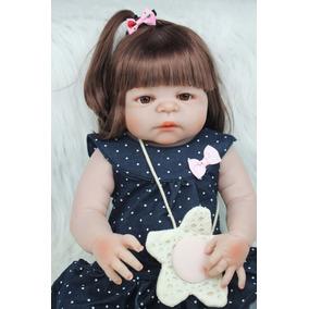 Bebê Reborn De Silicone Parece De Verdade Com Frete Grátis