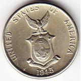 Filipinas. Administración Estados Unidos. 5 Ctvs. 1945 S.