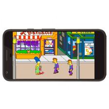 Neo Geo Juego The Simpson + Regalo Para Android