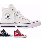 Tênis All Star Converse Cano Alto.