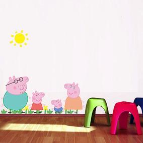 Adesivo Decorativo Infantil Peppa Pig Quartos E Festas