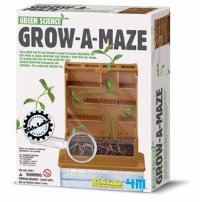 4m Kit De Ciencia Verde - Construye Un Laberinto De Plantas