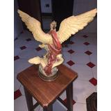 Figura Angel San Miguel Arcangel Altura 32 Cm Importado