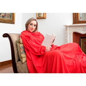 Cobertor De Tv Com Mangas Solteiro Vermelho - Loani