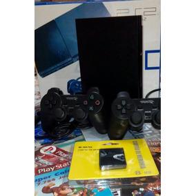 Playstation 2 Desbloqueado - Caixa + 7784 Jogos