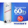 Termotanque De Cobre 60lts Warners Plus Gtia 20 Años Yanett