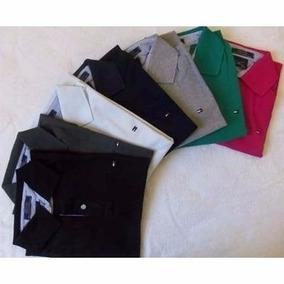 Kit C/20 Camisetas Polo Variadas Marcas Atacado Barato