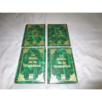 Libro Enciclopedia La Biblia De La Gramatica Completa 4tomos