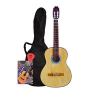 Guitarra Criolla Estudio Funda Mejor Precio Economica Color