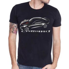 Remera Rever Pass Manga Corta New Camaro 2016 E7s