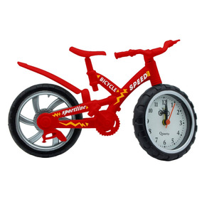 Yl Reloj Despertador Bici Oficina Recuerdo Promocion Baby368