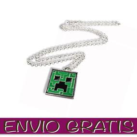 Collar Verde Estilo Minecraft Padrisimo Envio Gratis