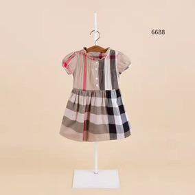 Gucci Burberry Vestido Infantil Grife Importado