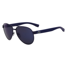 Óculos Lacoste L185s 424 Azul Fosco Lente Azul Flash Tam 6 6104af4c83