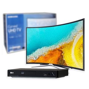 Pantalla Curva 49 Pugadas - Samsung Smart Tv + Bluray 3d