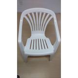 Cadeira Plástica Tipo Poltrona Marfinite