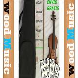 Combo Violin Stradella 4/4 Arco Recina Estuche Y Más