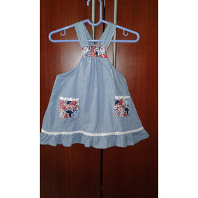 Vestido Casual Tipo Braguita De Niñas